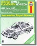Haynes Dodge Omni Plymouth Horizon 1978-1990 Auto Repair Manual