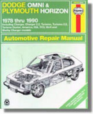 Haynes Dodge Omni Plymouth Horizon 1978-1990 Auto Repair Manual
