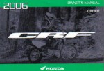 Official 2006 Honda CRF80F Factory Owners Manual