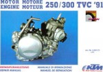 1991-1995 KTM 250 - 300 Two Stroke Engine Service Repair Manual