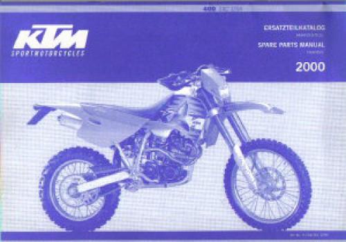 2000 ktm 400 sxc chassis spare parts manual. Black Bedroom Furniture Sets. Home Design Ideas