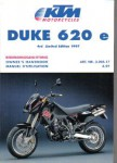 Official 1997 KTM 620e Duke Owners Handbook