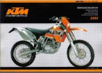 Official 2000 KTM 400 520 SX EXC Owners Manual
