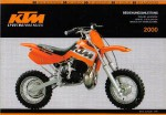 Official 2000 KTM 50 Air Cooled Owners Handbook
