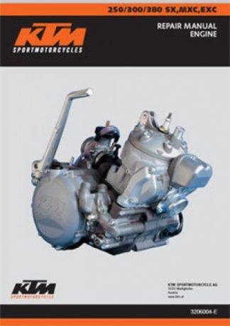 1999 - 2003 KTM 250-380 SX MXC EXC Engine Manual