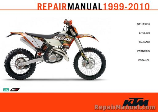 3206062t ktm 125 sx service manual motorrad bild idee 1999 ktm 300 exc wiring diagram at arjmand.co