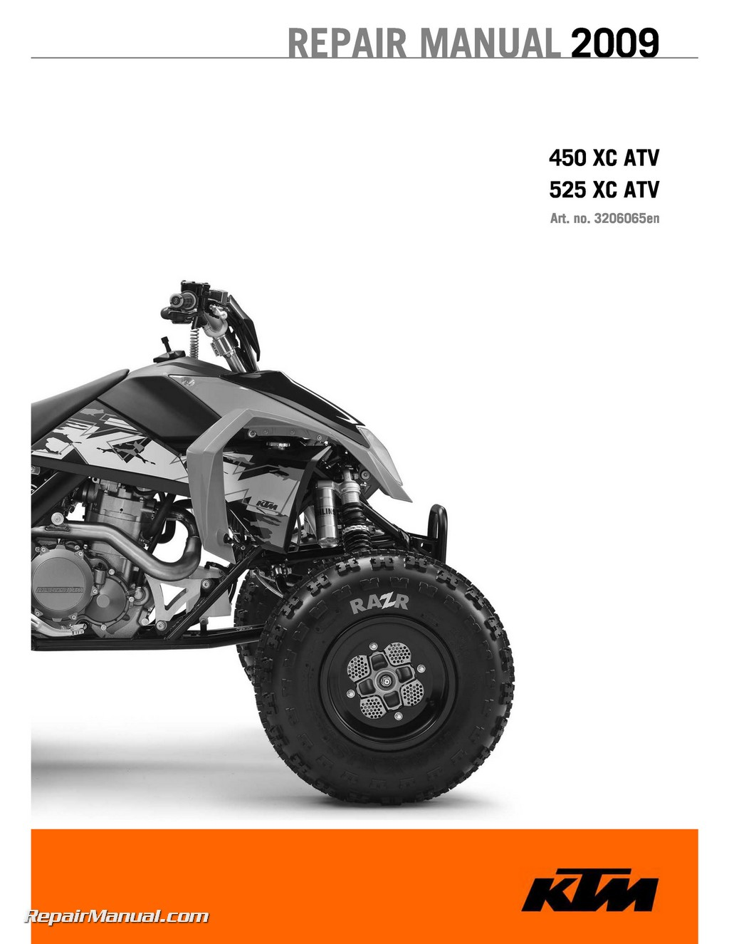 2009 Ktm 450 525 Xc Atv Repair Manual ATV Clutch Diagram Atv Repair Diagram