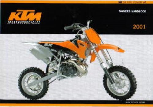 2001 KTM 50 SX Pro Senior LC Motorcycle Owners Handbook