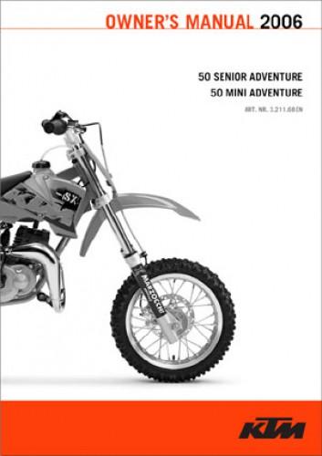 Manual Ktm 50 Sr
