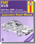 Haynes Fiat X1 9 1974-1980 Auto Repair Manual