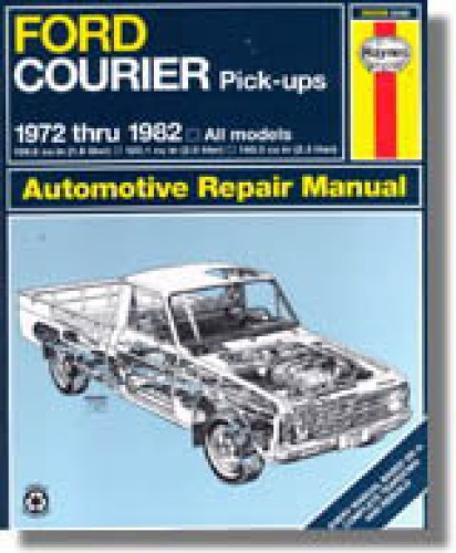 Ford pick ups bronco 1972 repair guide for Bureau automotive repair