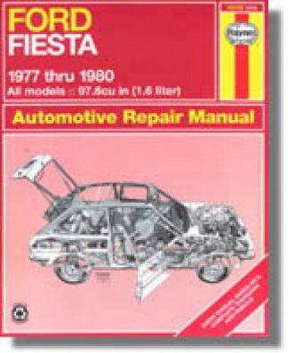 Haynes Ford Fiesta 1977-1980 Auto Repair Manual