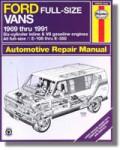 Haynes Ford Full Sized Van 1969- 1991 Auto Repair Manual
