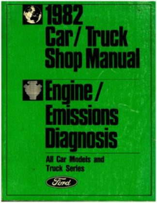 1982 Ford Car Truck Shop Manual Used