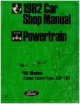 1982 Powertrain Shop Manual Used