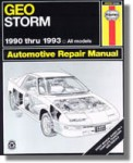 Haynes Geo Storm 1990-1993 Auto Repair Manual