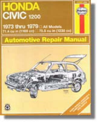 Haynes Honda Civic 1200 1973-1979 Auto Repair Manual