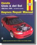 Haynes Honda Civic del Sol 1992-1995 Auto Repair Manual