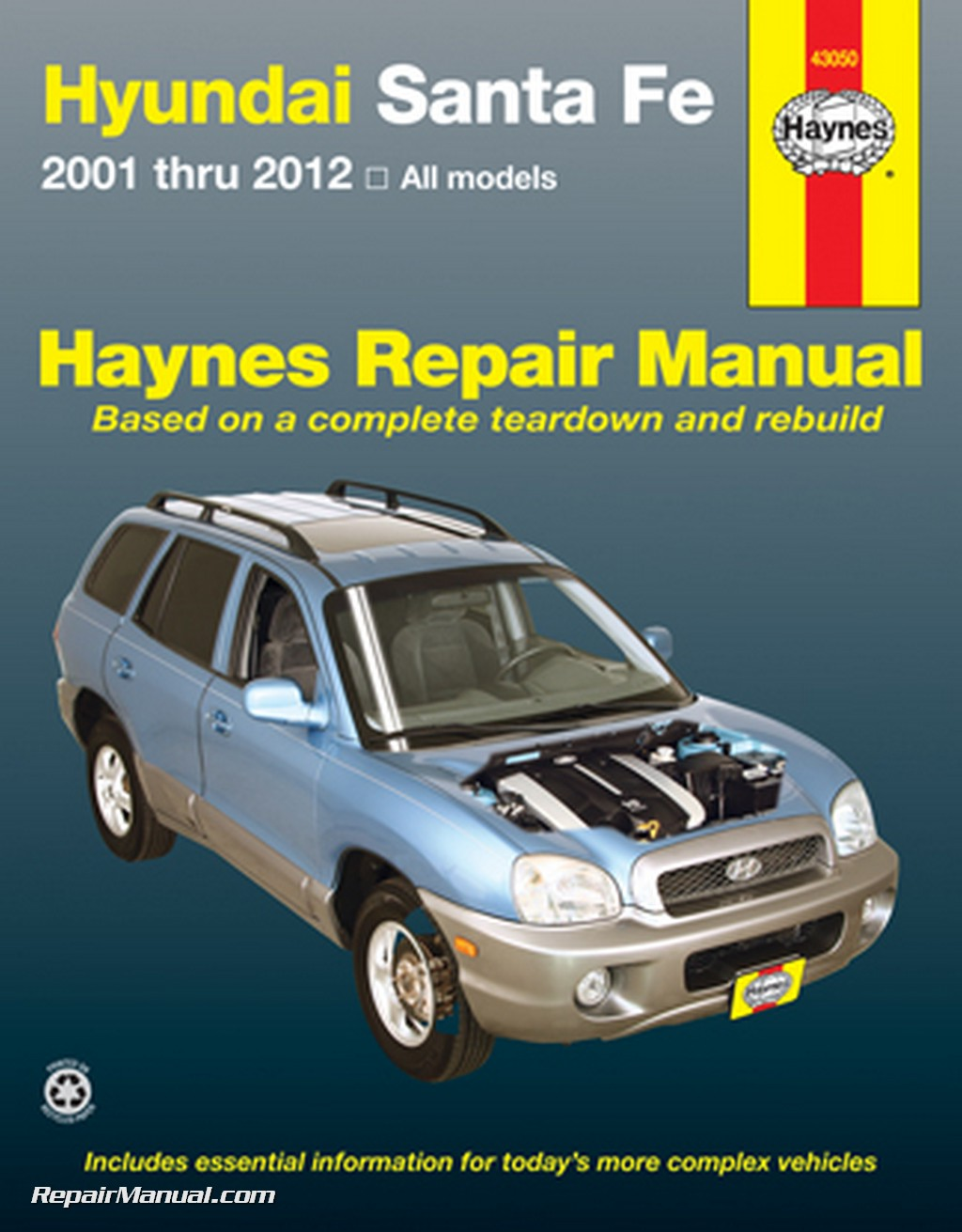 haynes hyundai santa fe 2001 2012 auto repair manual rh repairmanual com 2001 forester repair manual subaru forester 2001 repair manual
