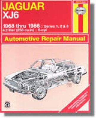 Haynes Jaguar XJ6 1968-1986 Repair Manual