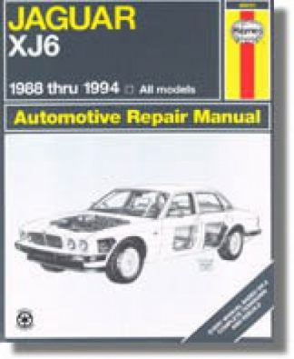 Haynes Jaguar XJ6 1988-1994 Auto Repair Manual