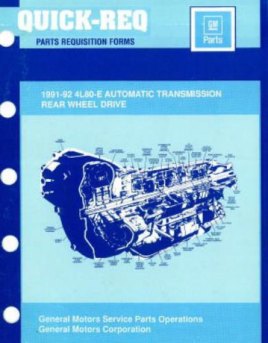 used 1991 1992 4l80 e automatic transmission parts manual Haynes Manuals UK haynes welding manual