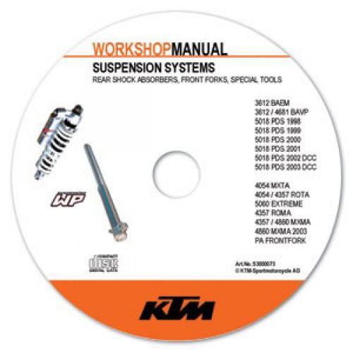 ktm suspension workshop manual on cd rom. Black Bedroom Furniture Sets. Home Design Ideas