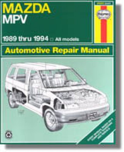Haynes Mazda MPV 1989-1994 Auto Repair Manual
