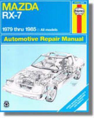 Haynes Mazda RX-7 1979-1985 Auto Repair Manual