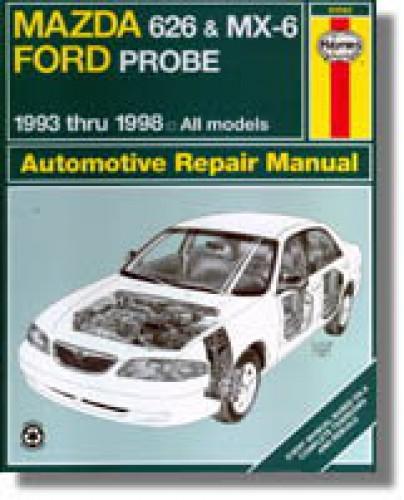 1993 2001 mazda 626 mx 6 ford probe haynes repair manual rh repairmanual com Haynes Repair Manual 1991 Honda Civic Haynes Repair Manuals Mazda