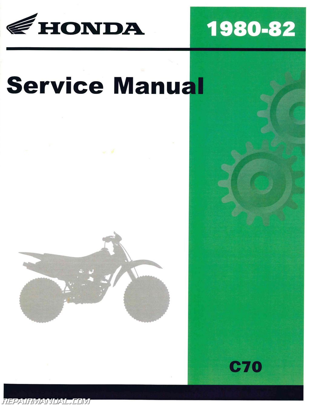1980 1982 honda c70 scooter workshop service repair manual rh repairmanual com honda c70 service manual honda c70 service manual