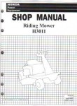Official Honda HT-R3009 HT-R3811 Lawn Tractor Shop Manual