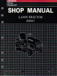 Official Honda H4013 Lawn Tractor Shop Manual