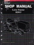Official Honda H2013 H2013K1 and H2113 Lawn Tractor Shop Manual