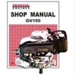 Official Honda GV150K1 Engine Factory Shop Manual