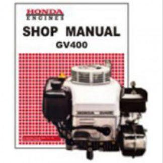 Official Honda GV400K0-K1 Engine Factory Shop Manual