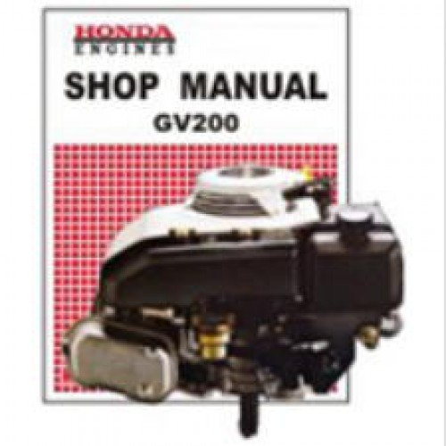 honda gv engine shop manual