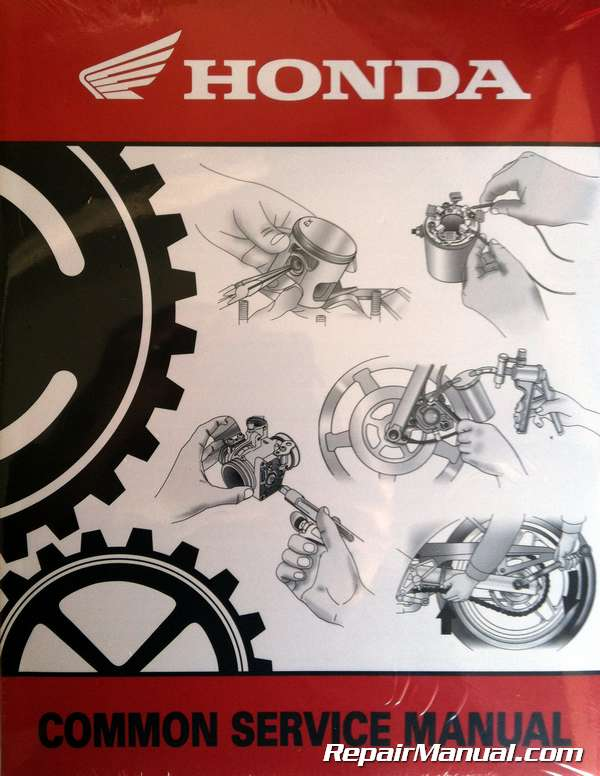 Honda Common Service Manual Motorcycle Atv Maintenance