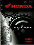 Official 1995-2007 Honda CR80 CR85 Factory Service Manual