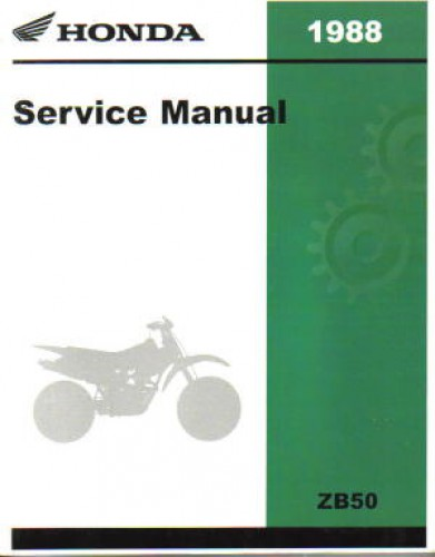1988 honda zb50 wiring diagrams rh repairmanual com