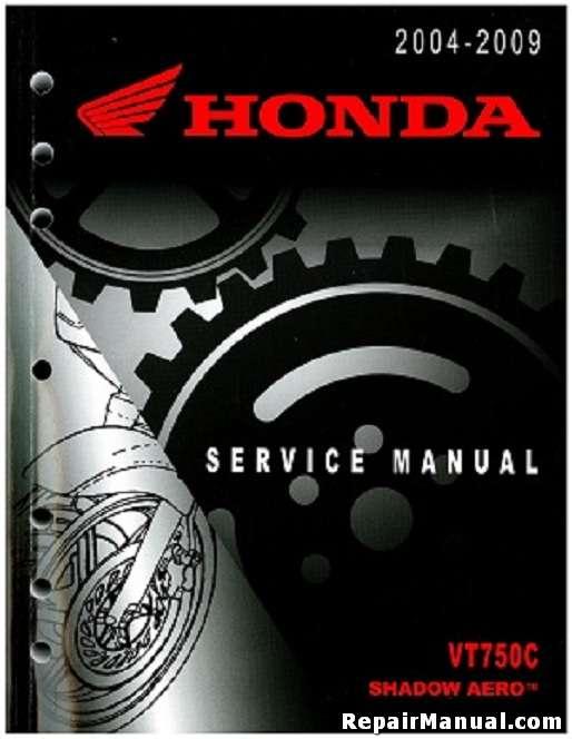 2004 2009 honda vt750c shadow aero motorcycle service repair manual rh repairmanual com 2005 honda shadow aero 750 manual 2006 honda shadow aero manual
