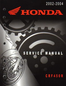honda 2002 2003 2004 crf450r motorcycle service manual. Black Bedroom Furniture Sets. Home Design Ideas