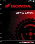 Official 2013 Honda CBR600RR RA Factory Service Manual