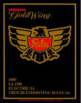 Official 1989 Honda GL1500 Factory Electrical Troubleshooting Manual