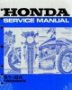 Official 1991-1994 Honda CBR600F2 Factory Service Manual