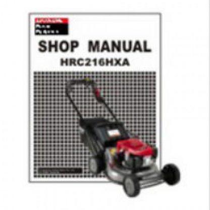 Official Honda HRC7013 Commercial Mower Shop Manual