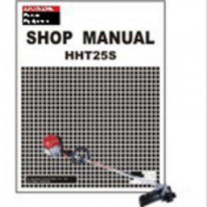 Official Honda HHT25S Trimmer Shop Manual