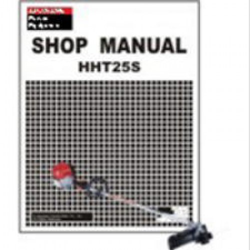 honda hht25s hht31s trimmer shop manual rh repairmanual com Honda Weed Trimmer Honda String Trimmer Manual