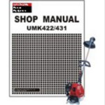 Official Honda UMK422 UMK431 Trimmer Shop Manual