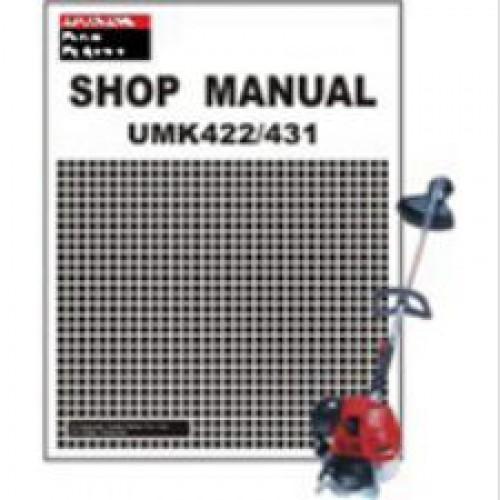 honda umk422 umk431 trimmer shop manual rh repairmanual com honda gcv160 service manual pdf honda gcv160 service manual download